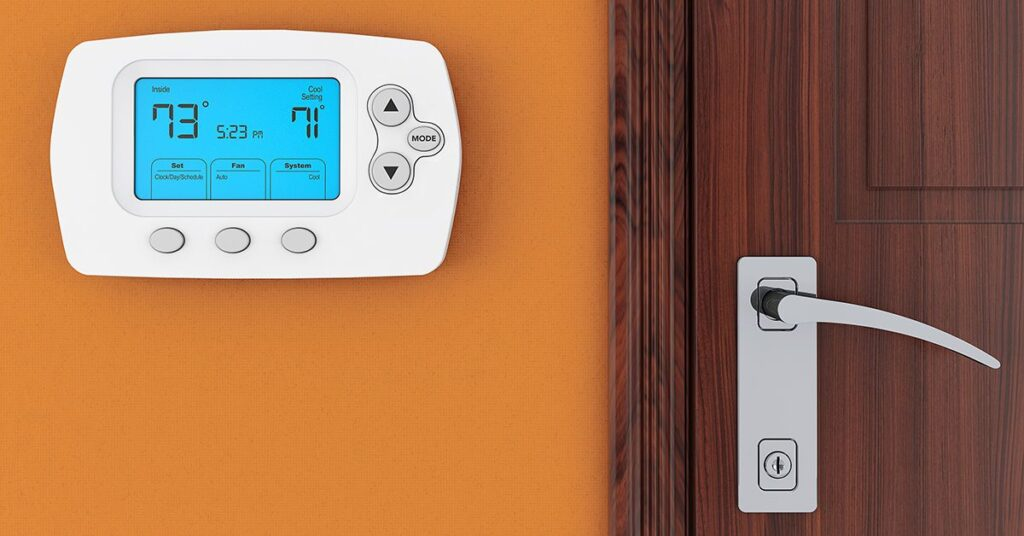 Programmable Thermostat - 8 Tips To Save On Energy Costs